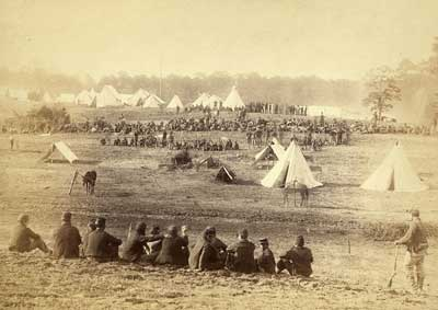 Confederate POWs at Fisher's Hill